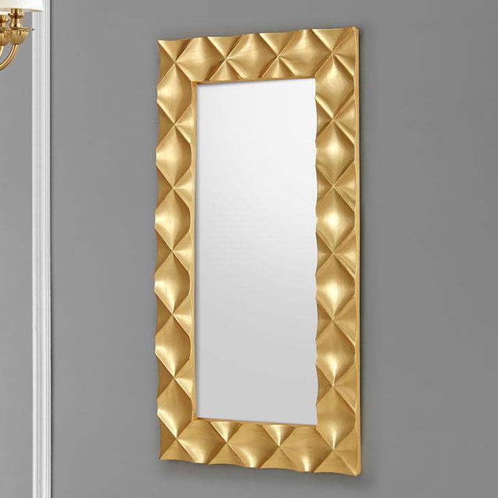 Зеркало DUPEN (Дюпен) PU182-1 золото (96X172см)