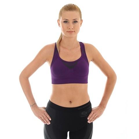 Brubeck Thermo спортивный топ женский фиолетовый