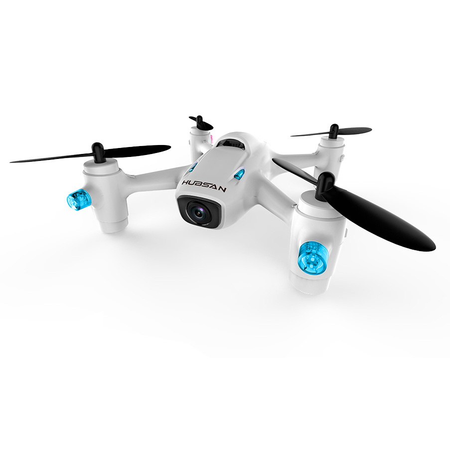 Квадрокоптер Hubsan X4 Mini H107C+ X4 CAM PLUS 1080P HD h107c+F с удержанием высоты