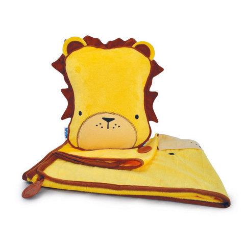 Лев Лирой SnooziHedz: детский дорожный набор подушка и плед