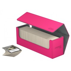 Ultimate Guard - Розовая кожаная коробочка для хранения 400+ карт