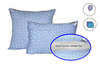 Подушка искусственный лебяжий пух  в тике