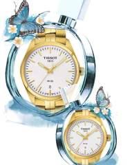 Парные часы TISSOT PR 100: T101.410.33.031.00 и T101.210.33.031.00
