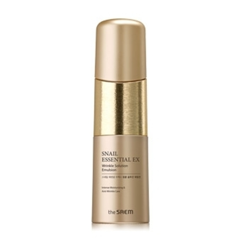 THE SAEM Snail Essential Эмульсия антивозрастная Snail Essential EX Wrinkle Solution Emulsion 150мл