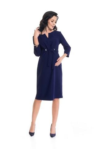 Платье 09056 темно-синий