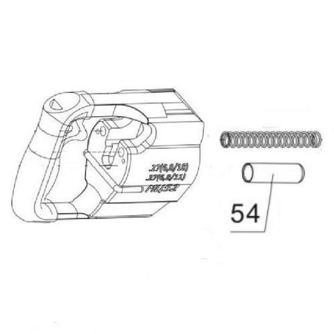 ОПТСНАБТОРГ | Втулка пружины ствола (54) - для монтажного пистолета ПЦ-84,GFT5, МЦ-52