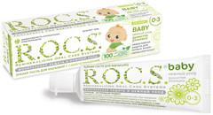 R.O.C.S. Зубная паста для малышей с самого рождения Душистая ромашка 45 г