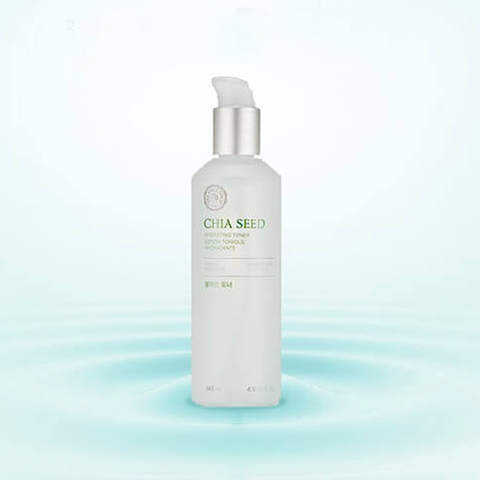THE FACE SHOP Chia Seed Hydrating Toner, 145 ml