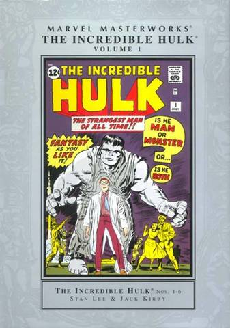 Marvel Masterworks: The Incredible Hulk Volume 1