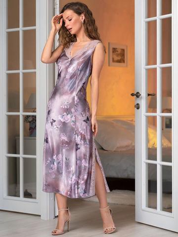 Длинная шелковая сорочка MIA-Amore АВРОРА