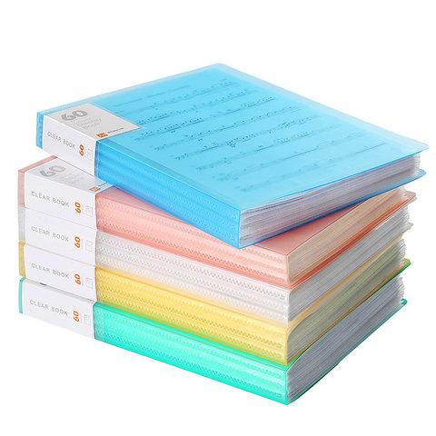 Папка с файлами А4, 60 вкладышей