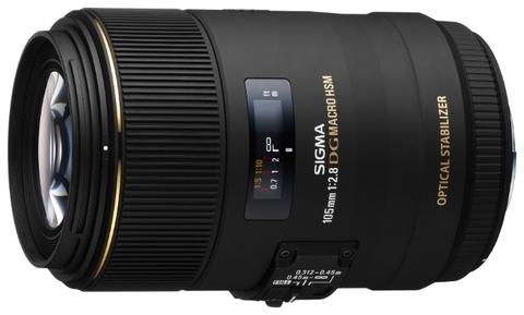 Sigma AF 105mm f/2.8 EX DG OS Macro Nikon F