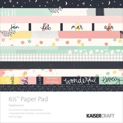 Набор бумаги 15х15см Kaisercraft Paper Pad  - Daydreamer -40л.