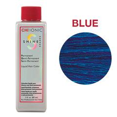CHI Ionic Shine Shades Liquid Color BLUE (Цветная добавка Синий) - Жидкая краска для волос
