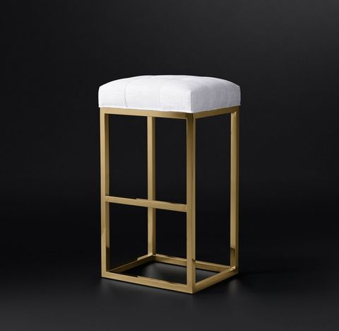 Reese Tufted Fabric Stool