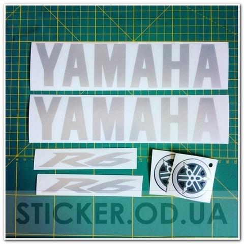 Набор виниловых наклеек на мотоцикл YAMAHA YZF-R6 2007