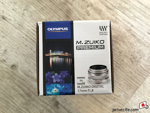 Объектив Olympus M.Zuiko Digital 17mm f/1.8 Black для Olympus