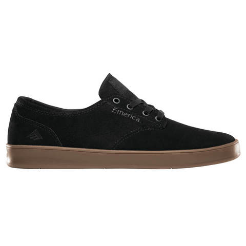 Кеды EMERICA The Romero Laced (Black/Charcoal/Gum)