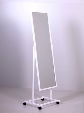 ТК-160-49 Зеркало напольное с колесами (белый)