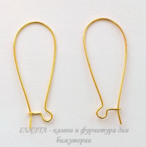 Швензы - петли длинные, 39х14 мм (цвет - золото), 5 пар ()