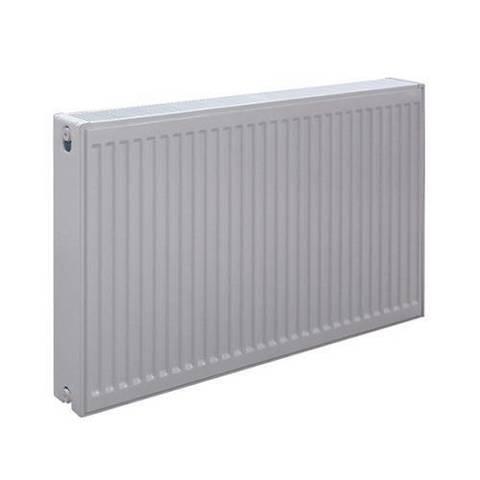 Радиатор панельный профильный ROMMER Ventil тип 11 - 300x400 мм (подключение нижнее, цвет белый)