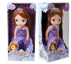 Кукла София в лиловом платье