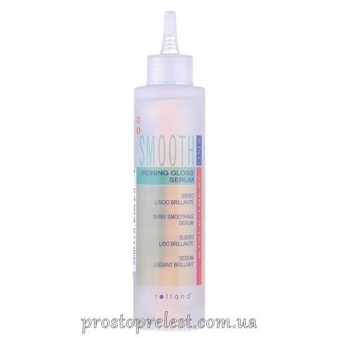 Rolland Una Smooth Ironing Gloss Serum - Сыворотка для разглаживания и блеска волос