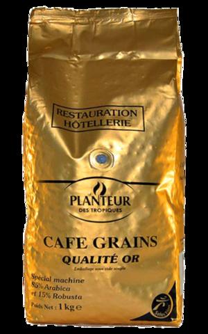 Кофе в зернах PLANTEUR Des Tropiques QUALITE OR, 1 кг