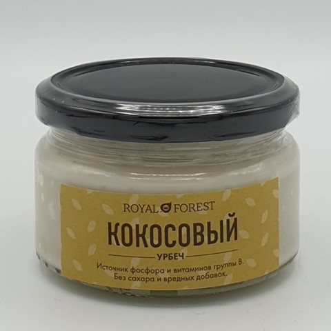 Кокосовый урбеч ROYAL FOREST, 200 гр