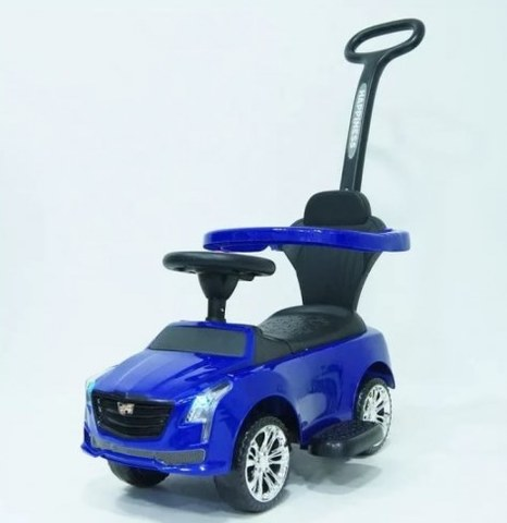 Каталка Rivertoys CADILLAC JY-Z06D-BLUE, синий