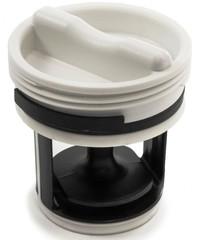 Фильтр сливного насоса стиральной машины CANDY GRAND с крышкой 41021232, 41021233