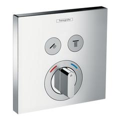 Смеситель для душа встроенный Hansgrohe ShowerSelect  15768000 2 потребителя
