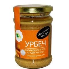 Урбеч-паста, Биопродукты, натуральная, из арахиса, 280 г
