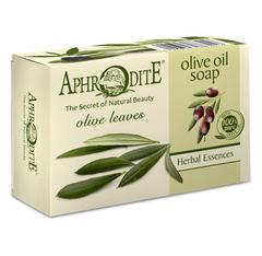 Оливковое скраб-мыло с листьями оливы, Aphrodite