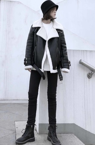 Leather Jacket «ANIYA»