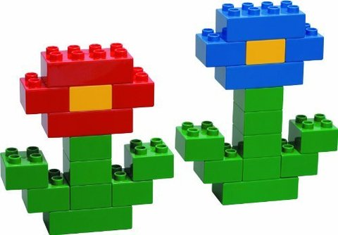 LEGO Duplo: Основные элементы 6176 — LEGO® DUPLO® Basic Bricks Deluxe — Лего Дупло