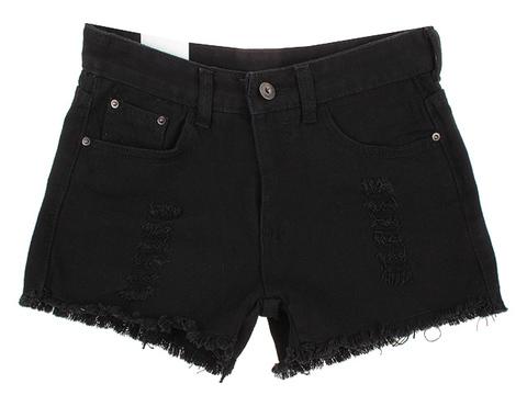 139 шорты женские, черные