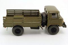 GAZ-66 khaki Russian Miniature 1:43