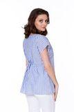 Блузка 08567 синий