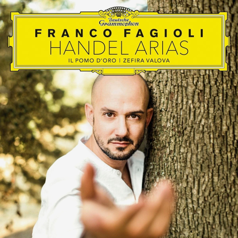 Franco Fagioli, Il Pomo d'Oro, Zefira Valova / Handel Arias (CD)