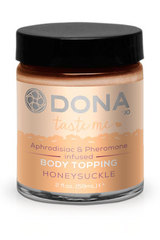 Карамель для тела DONA Body Topping Honeysuckle 59 мл