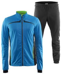 Элитный лыжный костюм Craft Intensity XC Storm blue мужской