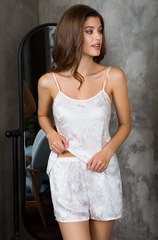Пижама натуральный шелк MIA-MIA  EVA ЕВА 15152