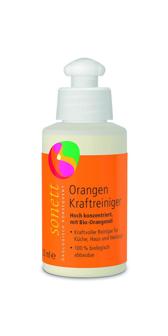 Средство для удаления жирных загрязнений с маслом Апельсиновой корки 120 мл SONETT