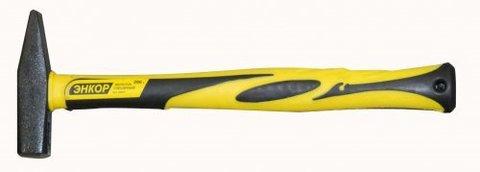 Молоток Энкор, слесарный, с фиберглассовой рукояткой, 200 г