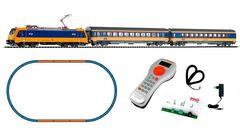 """Цифровой набор """"Пассажирский поезд BR 185 VI NS Intercity + 2 вагона""""  PIKO SmartControl light"""