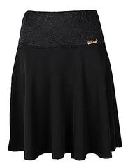 6620 юбка женская, черная