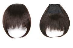 Челка из натуральных волос