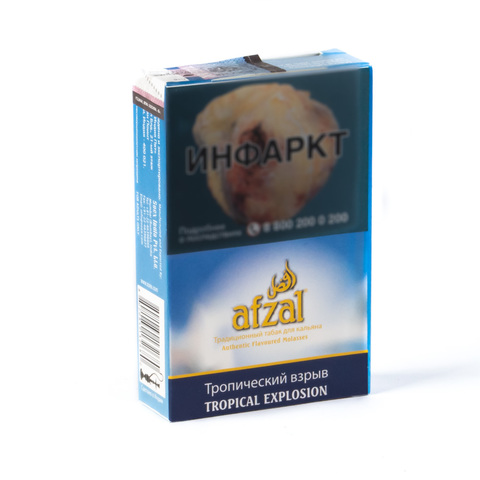 Табак Afzal Tropical Explosion (Тропический) 40 г