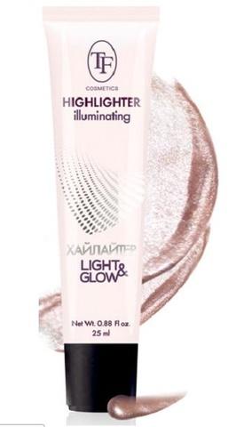 ТФ Хайлайтер для лица  Illuminating Highlighter тон 160 розовый -25мл CTW16